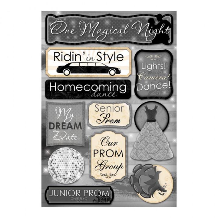 Наліпки Karen Foster One Magical Night Cardstock Stickers