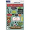 Наліпки Karen Foster Karen Foster What's Cooking Cardstock Stickers