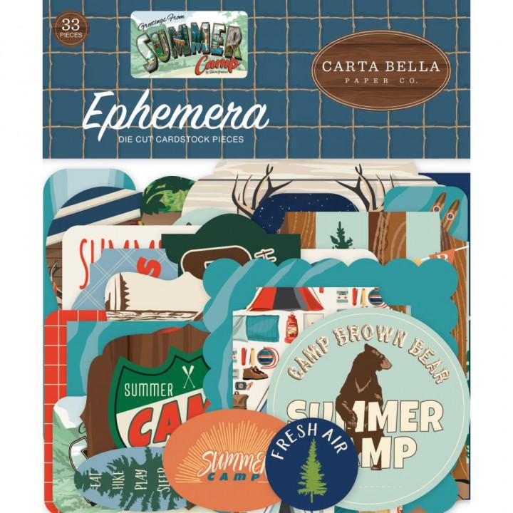Висічки Carta Bella Icons Summer Camp 33/Pkg
