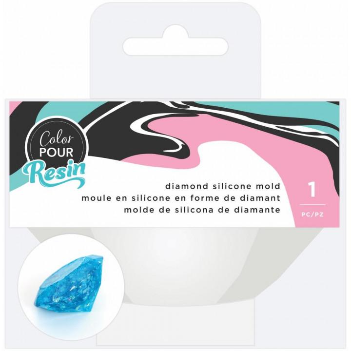 Молд American Crafts Color Pour Resin Large Diamond