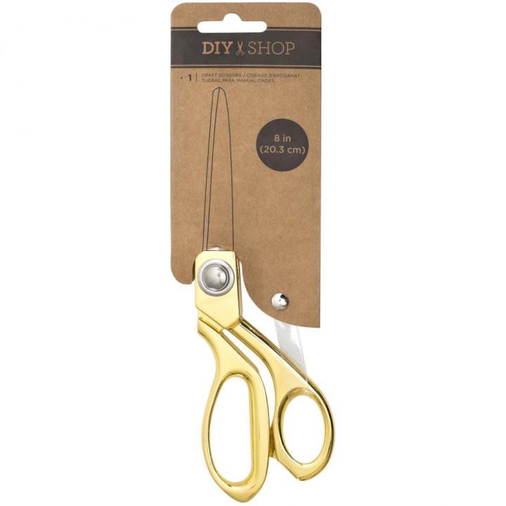 Ножиці American Crafts DIY Shop Craft Scissors Gold Metal 20см