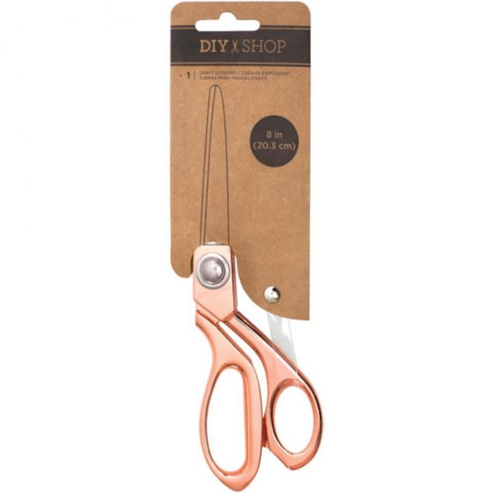 Ножиці American Crafts DIY Shop Craft Scissors Rose Gold 20см