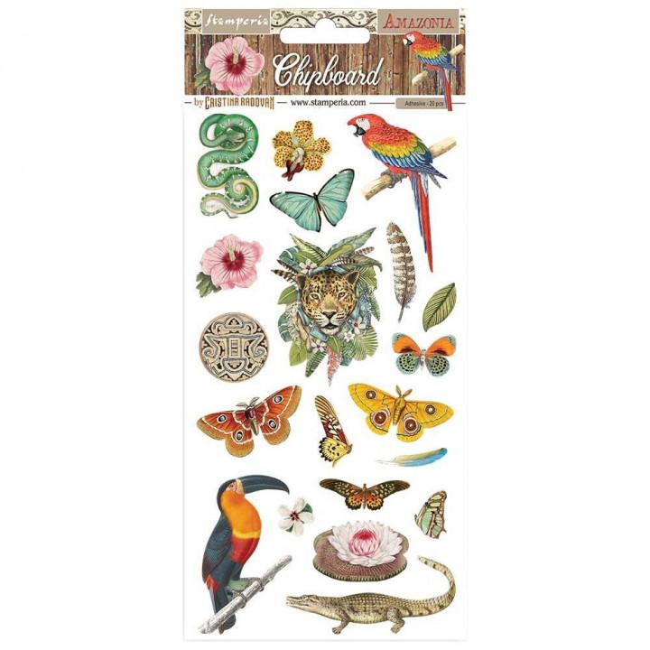 Чіпборд Stamperia Amazonia 15*30см