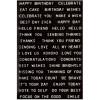 Наліпки Tim Holtz Idea-Ology Sentiments Label Stickers 68/Pkg