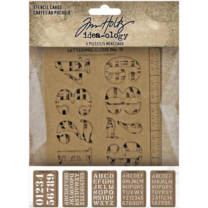 Трафарет Tim Holtz Idea-Ology Stencil Cards 10*14см