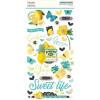 Наліпки з чіпборду Simple Stories Simple Vintage Lemon Twist 15*30см