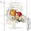 Трансфер Dress My Craft Transfer Me Sheet A4 Flowery Fruits