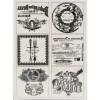 Трансфер Dress My Craft Transfer Me Sheet A4 Vintage Tile #4