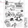 Трансфер Dress My Craft Transfer Me Sheet A4 Coffee Time
