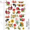 Трансфер Dress My Craft Transfer Me Sheet A4 Roses