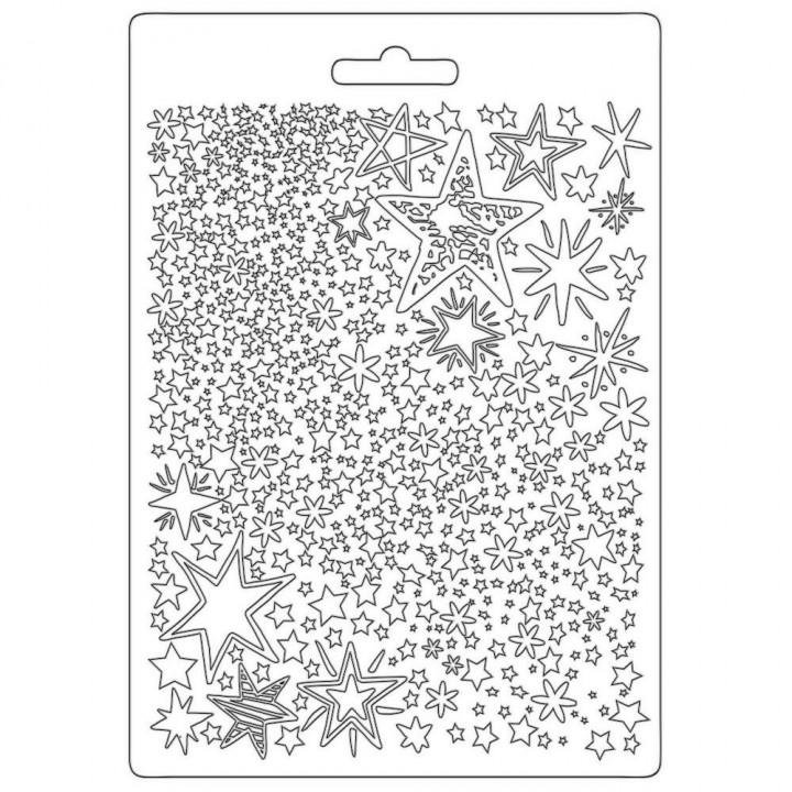 Молд Stamperia Soft Maxi A5 Cards, Romantic Christmas