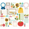 Висічки Simple Stories Homegrown Bits & Pieces Die-Cuts 37/Pkg