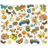 Висічки Simple Stories Simple Vintage Country Harvest Bits & Pieces Die-Cuts 48/Pkg