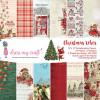 Набір паперу 30*30см Dress My Craft Christmas Vibes 24/Pkg