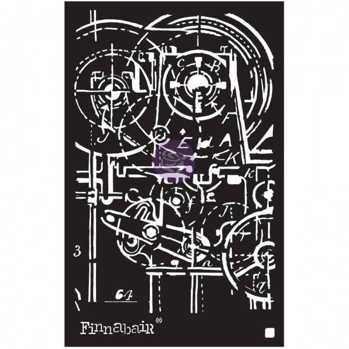 Трафарет Prima Finnabair Machinery