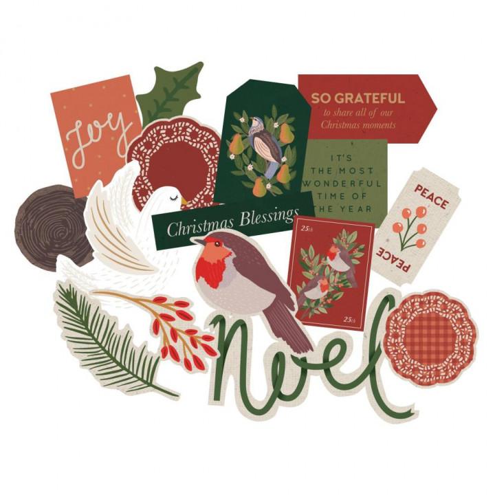 Висічки Kaisercraft Cardstock Die-Cuts A Christmas Tale