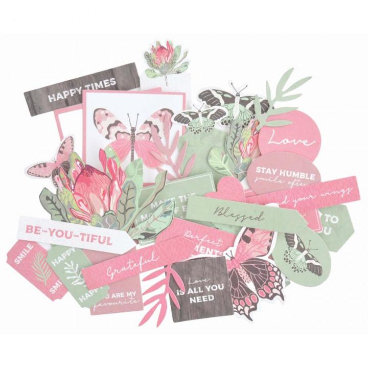Висічки Kaisercraft Cardstock Die-Cuts Flowering Natives