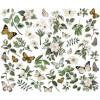 Висічки Simple Stories Simple Vintage Weathered Garden Bits & Pieces Die-Cuts 47/Pkg