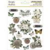 Наліпки Simple Stories Simple Vintage Weathered Garden Layered Stickers 15/Pkg