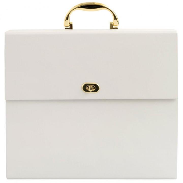 Папка для зберігання паперу We R Memory Keepers Accordion Paper Storage Cream 30*30см