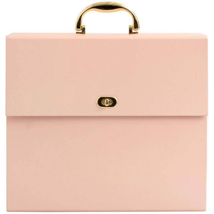 Папка для зберігання паперу We R Memory Keepers Accordion Paper Storage Pink 30*30см