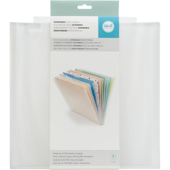 Папка для зберігання паперу We R Memory Keepers Expandable Paper Storage