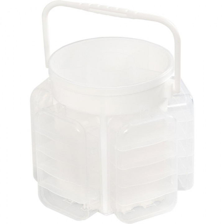 Бокс для зберігання We R Memory Keepers Craft Caddy Translucent Plastic Storage