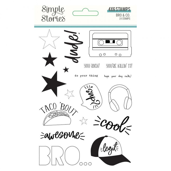 Штампи Simple Stories Bro&Co