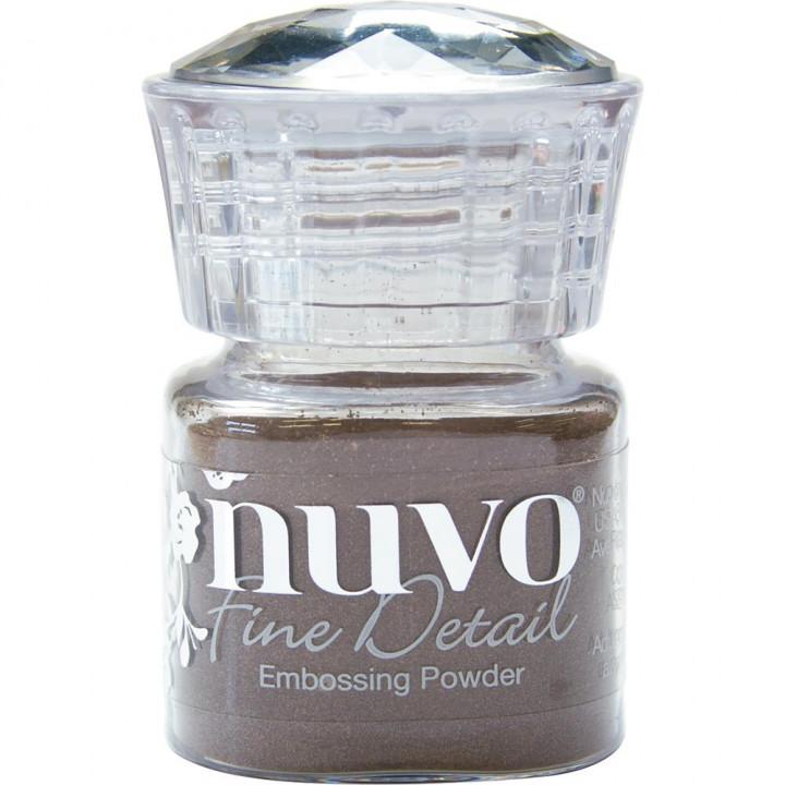 Пудра для ембоссінга Nuvo Embossing Powder Fine Detail Copper Blush