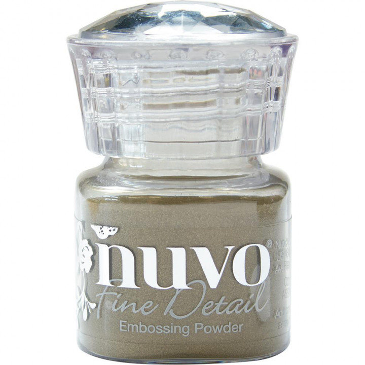 Пудра для ембоссінга Nuvo Embossing Powder Fine Detail Classic Gold
