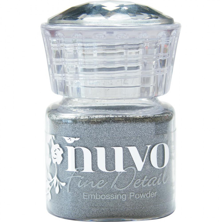 Пудра для ембоссінга Nuvo Embossing Powder Fine Detail Classic Silver