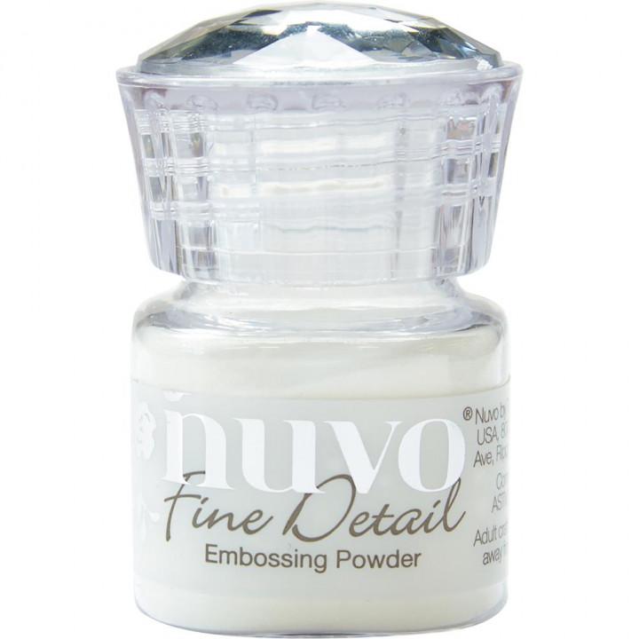 Пудра для ембоссінга Nuvo Embossing Powder Fine Detail Crystal Clear