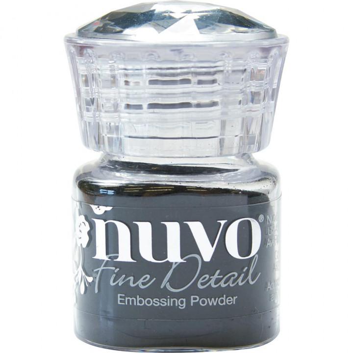 Пудра для ембоссінга Nuvo Embossing Powder Fine Detail Jet Black
