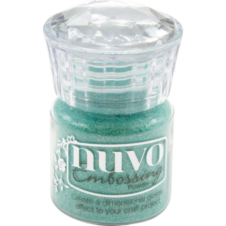 Пудра для ембоссінга Nuvo Glitter Embossing Powder Ocean Sparkle