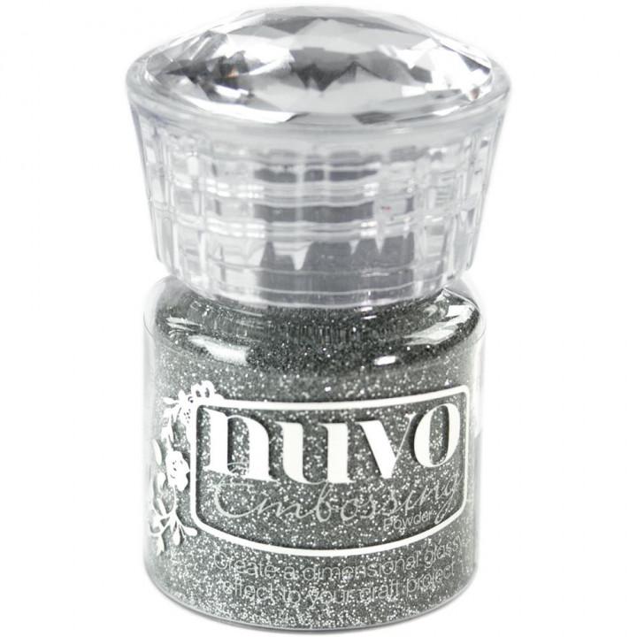 Пудра для ембоссінга Nuvo Glitter Embossing Powder Silver Moonlight